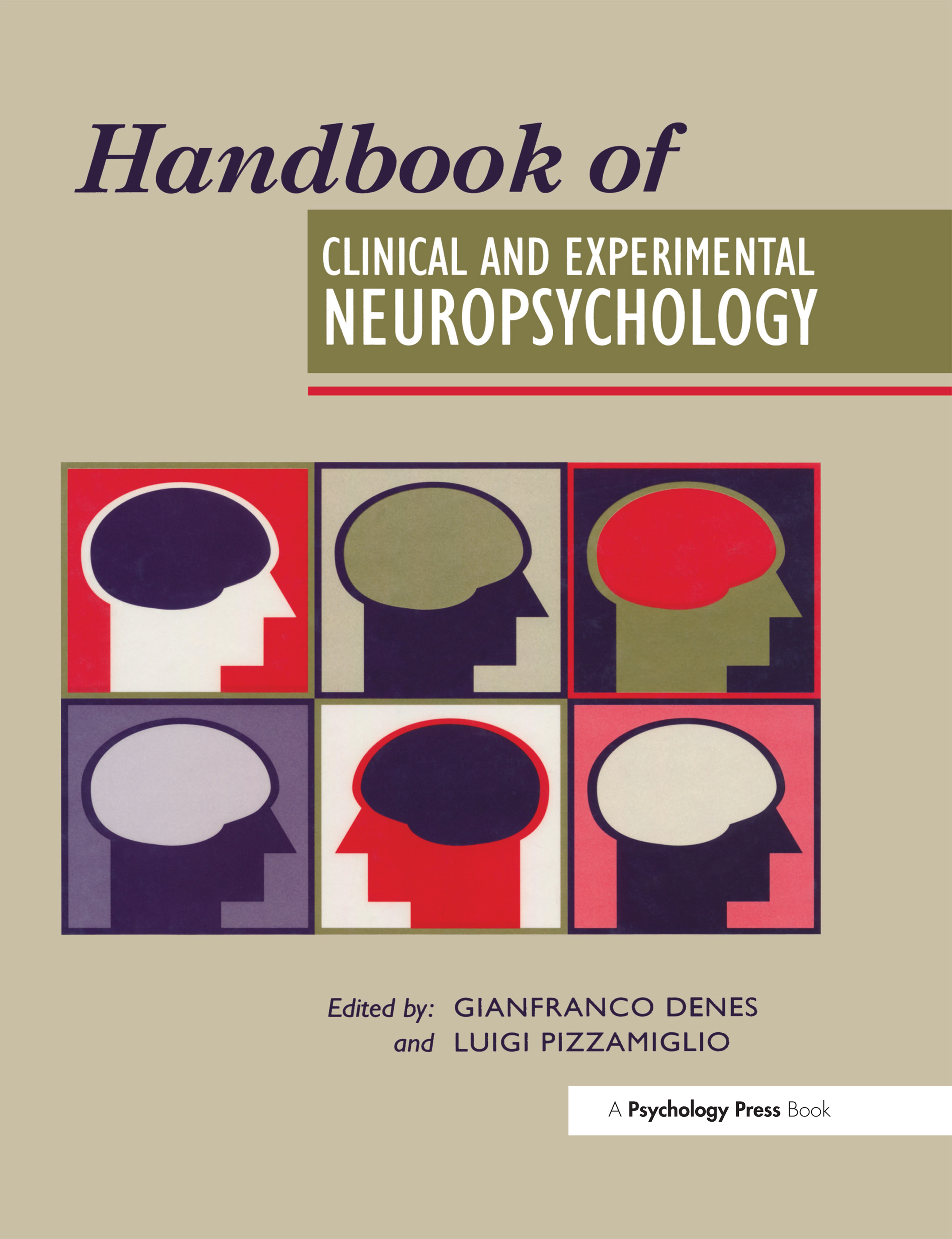 Handbook Of Clinical And Experimental Neuropsychology: 1st Edition (Hardback) book cover