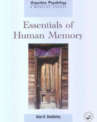 Essentials of Human Memory (Hardback) book cover