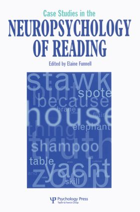 Case Studies in Neuropsychology of Reading (Paperback) book cover