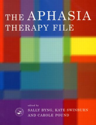 The Aphasia Therapy File: Volume 1 (Paperback) book cover