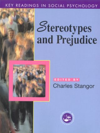 Stereotypes and Prejudice: Key Readings book cover