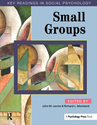 Small Groups: Key Readings (Paperback) book cover