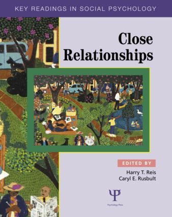 Close Relationships: Key Readings (Paperback) book cover