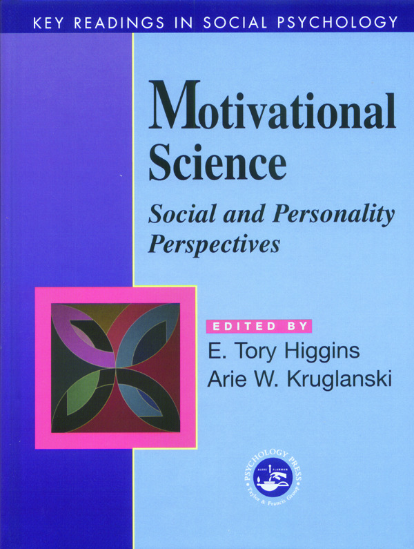 Motivational Science: Social and Personality Perspectives: Key Readings book cover