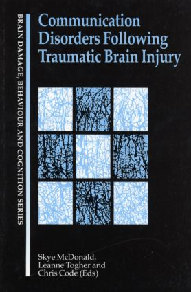 Communication Disorders Following Traumatic Brain Injury (Paperback) book cover