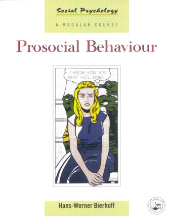Prosocial Behaviour (Paperback) book cover