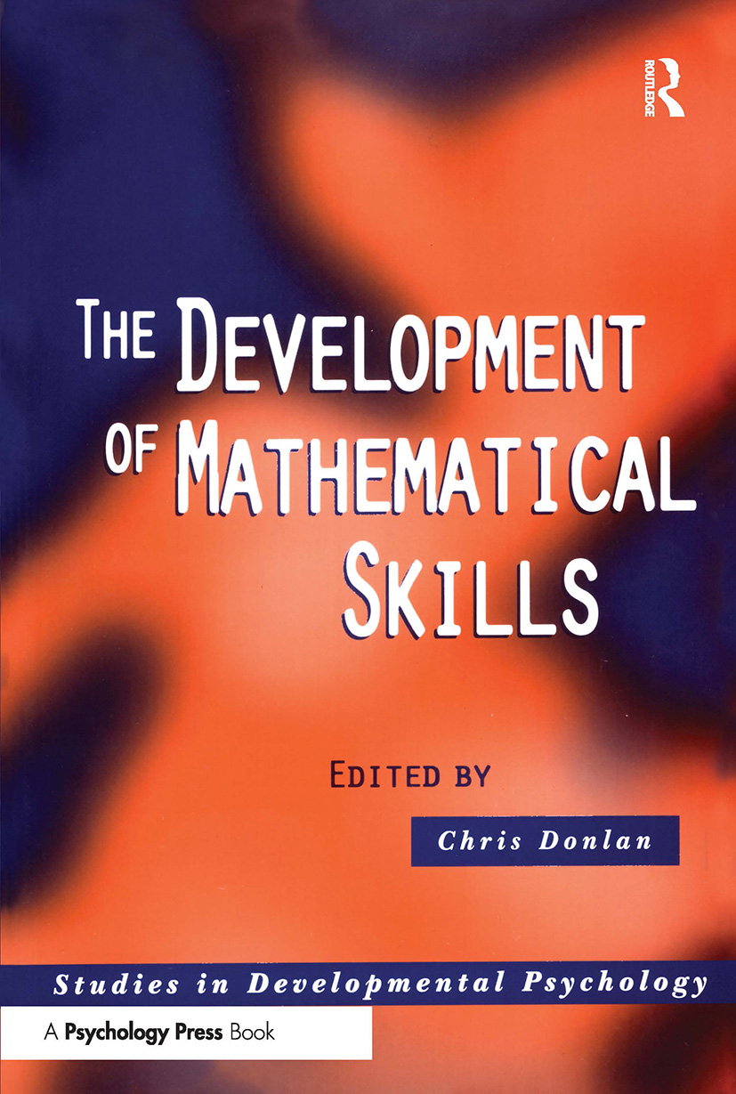 The Development of Mathematical Skills: 1st Edition (Paperback) book cover