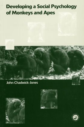 Developing a Social Psychology of Monkeys and Apes (Paperback) book cover