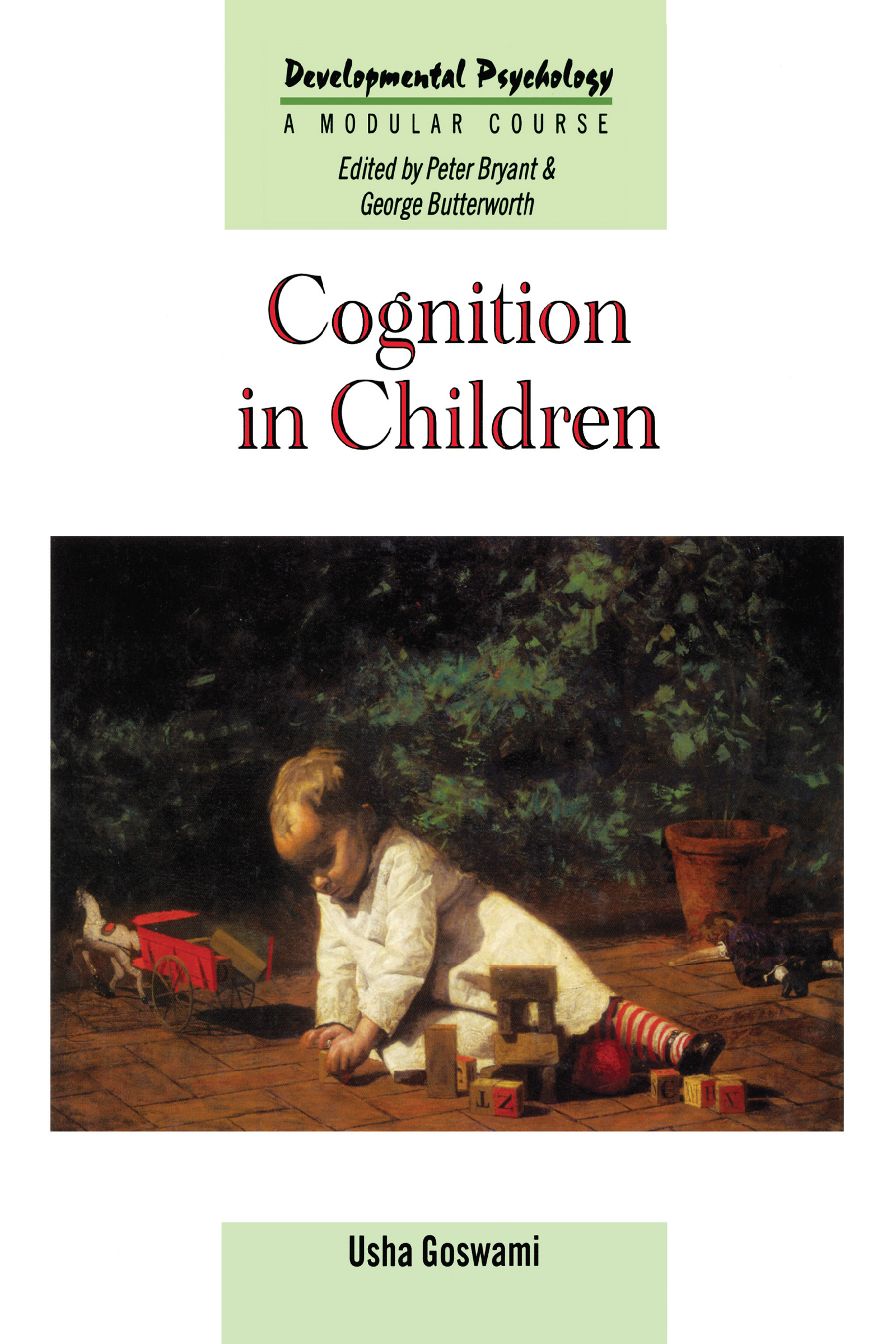 Cognition In Children (Paperback) book cover