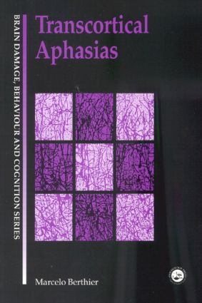 Transcortical Aphasias book cover