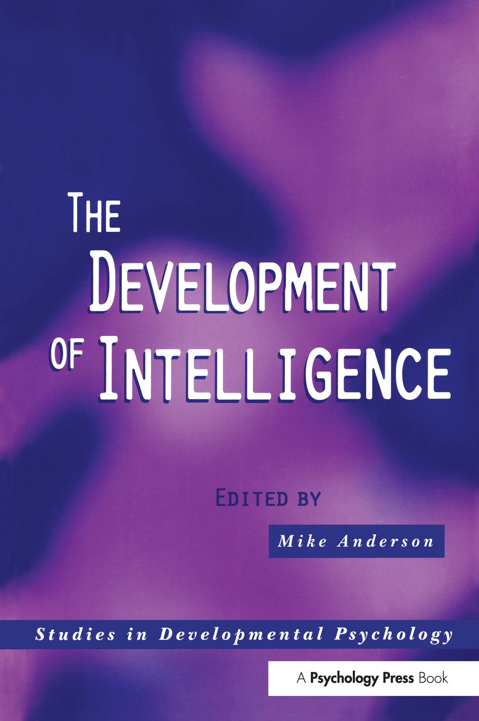 The Development of Intelligence (Paperback) book cover