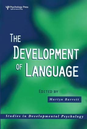 The Development of Language (Paperback) book cover
