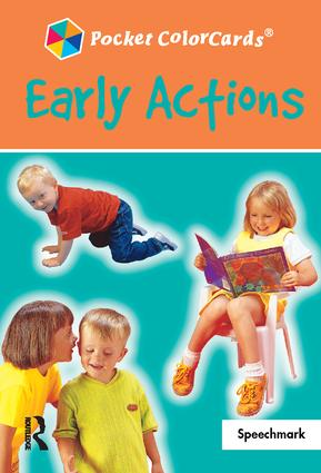 Early Actions: Colorcards: 1st Edition (Flashcards) book cover