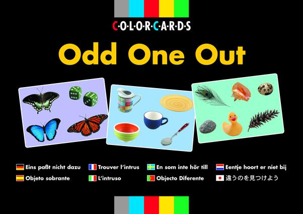 Odd One Out: Colorcards (Flashcards) book cover