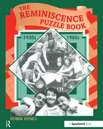 The Reminiscence Puzzle Book: 1930s-1980s, 1st Edition (Paperback) book cover