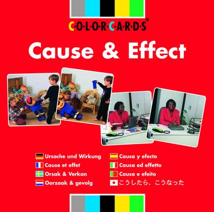 Cause and Effect: Colorcards: 1st Edition (Flashcards) book cover