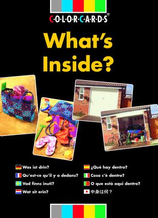 What's Inside?: Colorcards: 1st Edition (Flashcards) book cover