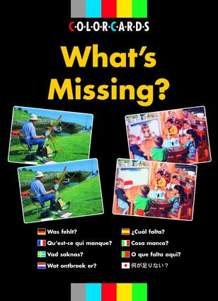 What's Missing?: Colorcards (Flashcards) book cover