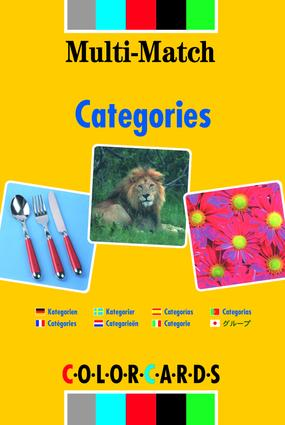 Categories: ColorCards Multi Match (Flashcards) book cover
