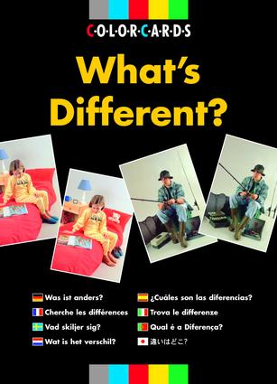What's Different? (Flashcards) book cover