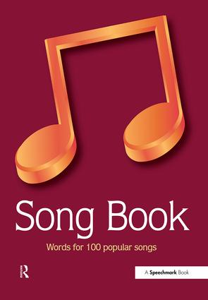 Song Book: Words for 100 Popular Songs, 1st Edition (Paperback) book cover