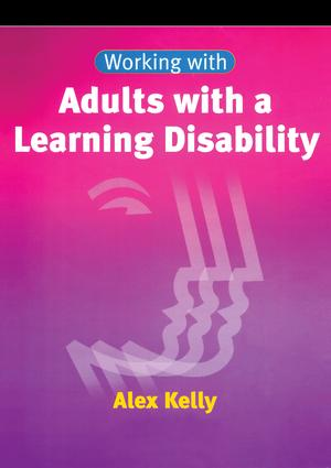 Working with Adults with a Learning Disability book cover