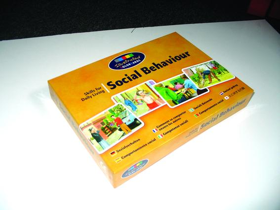 Social Behaviour: Colorcards (Flashcards) book cover