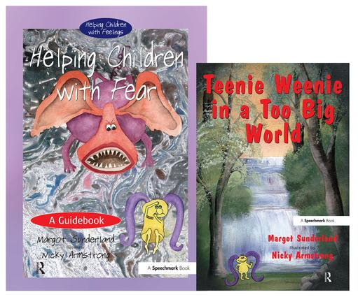Helping Children with Fear & Teenie Weenie in a Too Big World: Set book cover