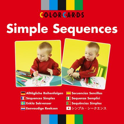 Simple Sequences: Colorcards: 1st Edition (Flashcards) book cover