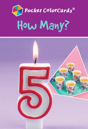 How Many?: Colorcards: 1st Edition (Flashcards) book cover