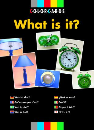 What is It?: Colorcards: 1st Edition (Flashcards) book cover
