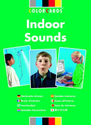 Listening Skills Indoor Sounds: Colorcards: 1st Edition (Flashcards) book cover