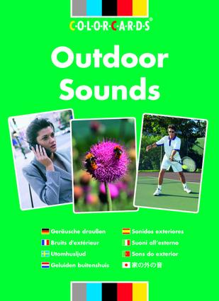 Listening Skills Outdoor Sounds: Colorcards: 1st Edition (Flashcards) book cover
