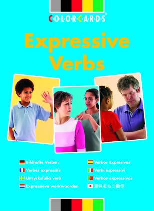 Expressive Verbs: Colorcards: 1st Edition (Flashcards) book cover