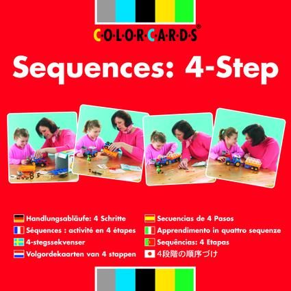 Sequences: Colorcards: 4-step, 1st Edition (Flashcards) book cover
