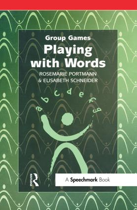 Playing with Words: 1st Edition (Paperback) book cover