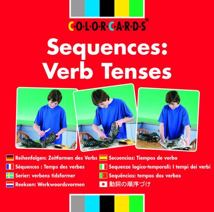 Sequences: Colorcards: Verb Tenses, 1st Edition (Flashcards) book cover