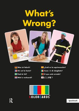 What's Wrong?: Colorcards: 2nd Edition, 2nd Edition (Flashcards) book cover