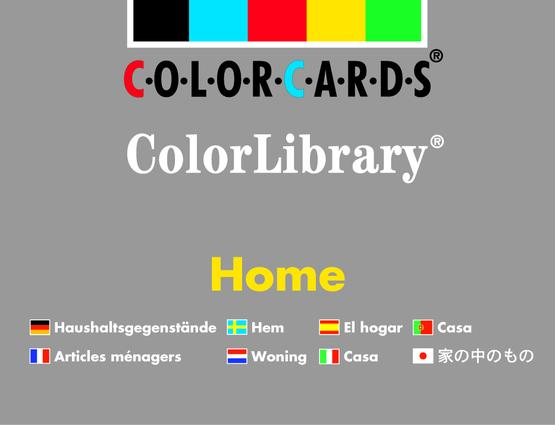 Home Colorlibrary: Colorcards: Revised Edition, 1st Edition (Flashcards) book cover