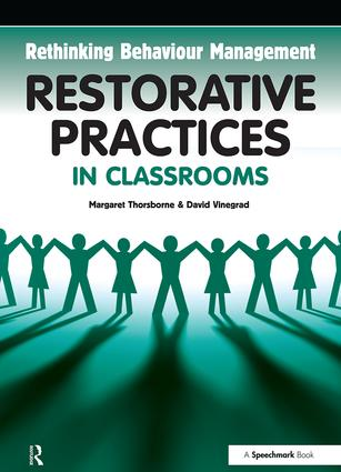 Restorative Practices in Classrooms: 1st Edition (Paperback) book cover