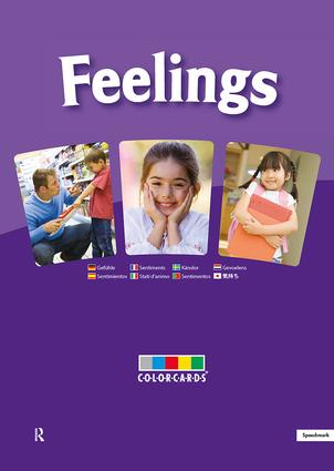 Feelings: ColorCards: 1st Edition (Flashcards) book cover