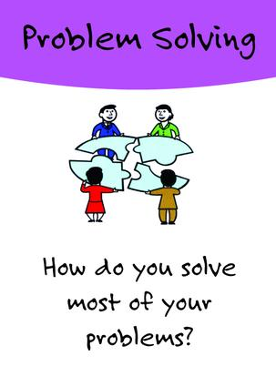 Problem Solving Card Game: 1st Edition (Flashcards) book cover