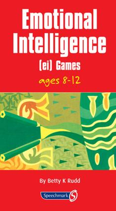 Emotional Intelligence (EI) Games: 1st Edition (Flashcards) book cover