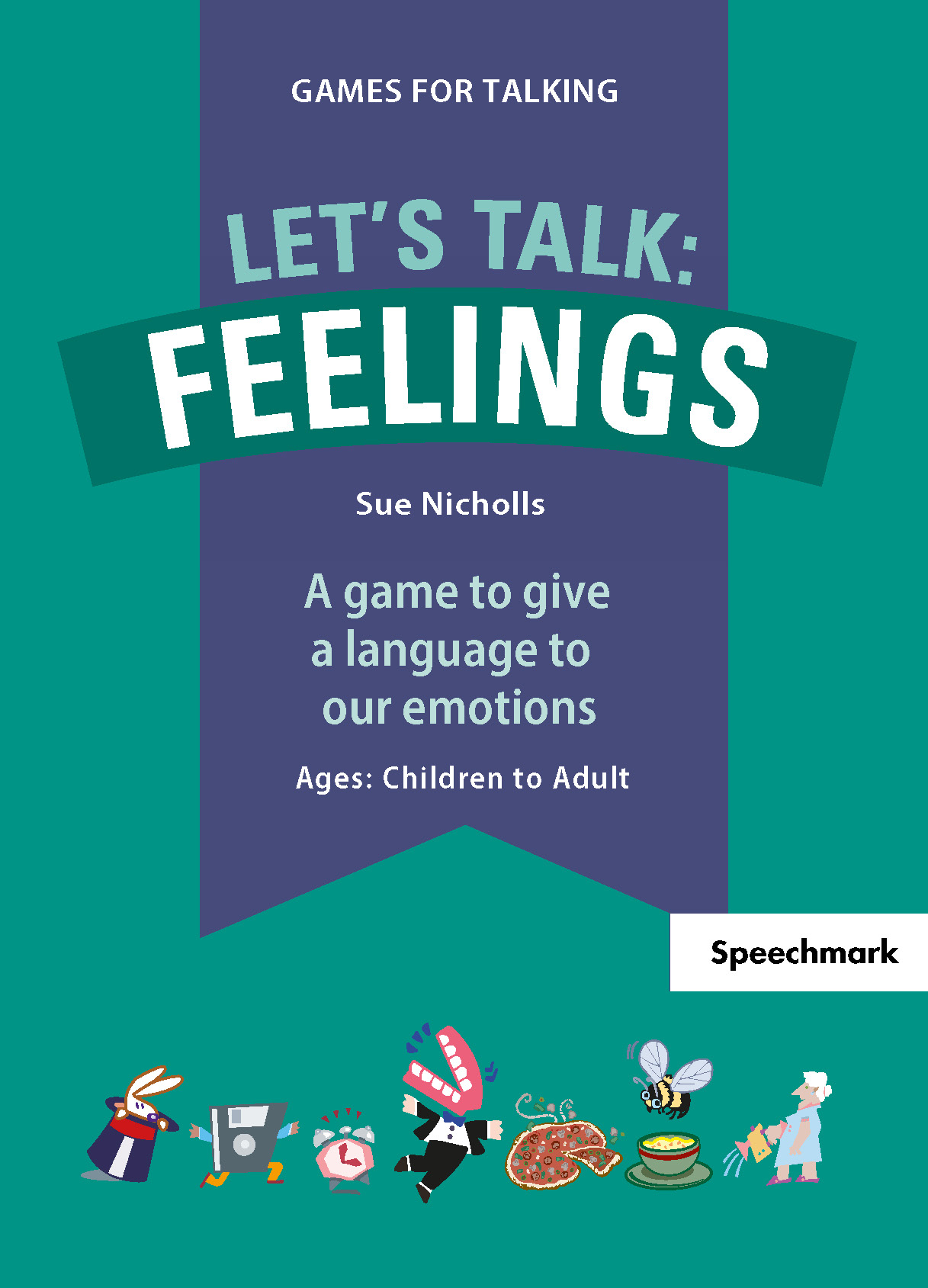 Let's Talk: Feelings, 1st Edition (Flashcards) book cover