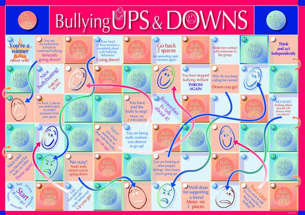 Bullying Up or Down Game: 1st Edition (Games) book cover