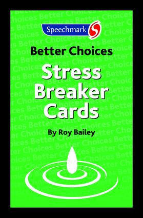 Stress Breaker Cards: 1st Edition (Flashcards) book cover