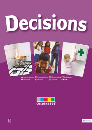 Decisions: Colorcards: 1st Edition (Flashcards) book cover