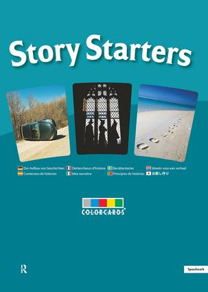 Story Starters: Colorcards: 1st Edition (Flashcards) book cover