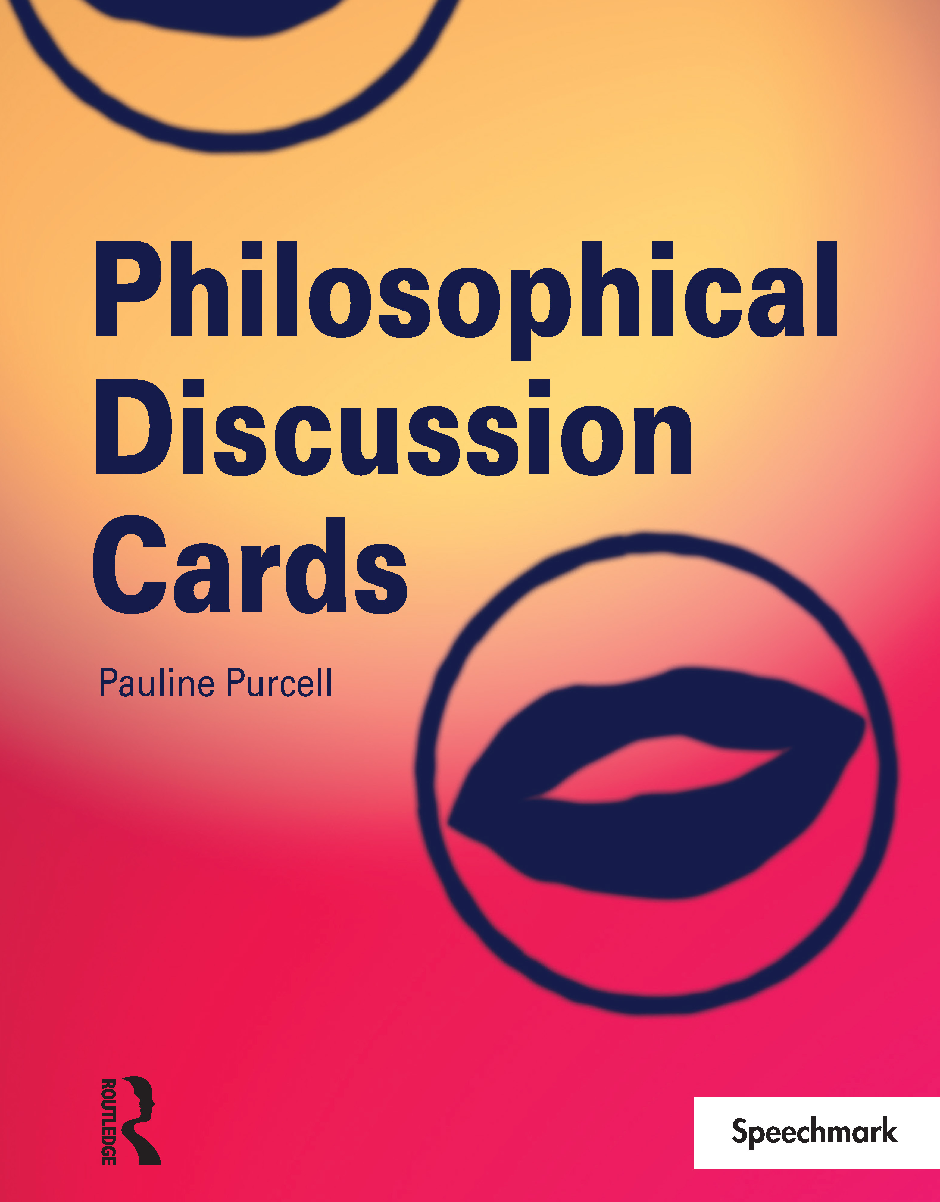 Philosophical Discussion Cards: 1st Edition (Flashcards) book cover