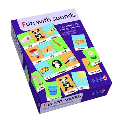 Fun with Sounds: 1st Edition (Flashcards) book cover